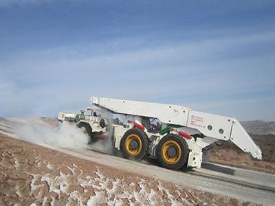 大坡度支架搬运车(六驱框架式)