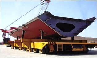 船体分段运输车