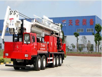 TMC60型高端多功能车载钻机