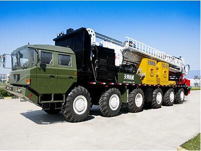 TMC135型高端多功能车载钻机