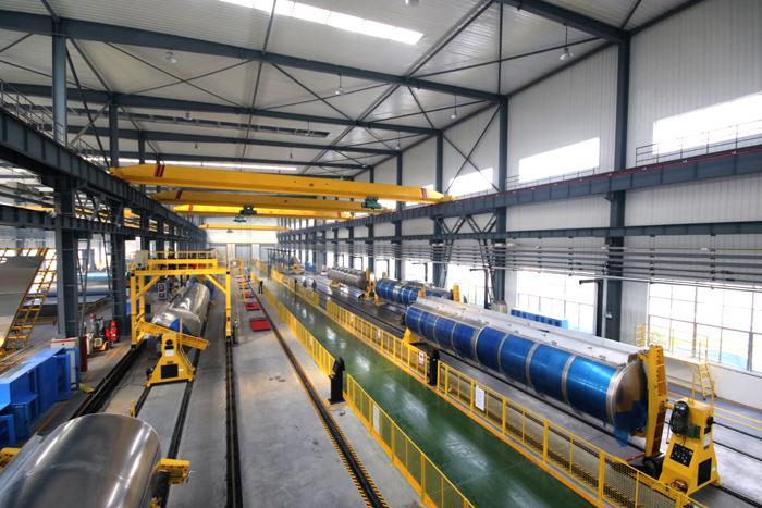 智能化铝合金罐车焊接制造中心